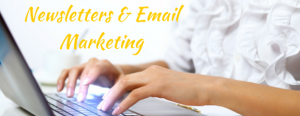 Newsletters and email marketing