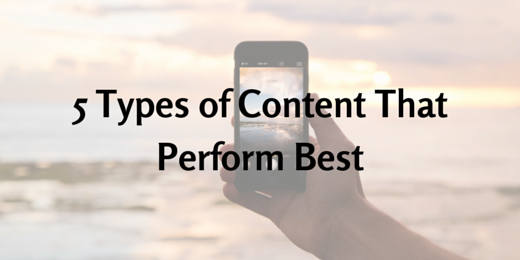 5 Types of Content that Get the Most Shares