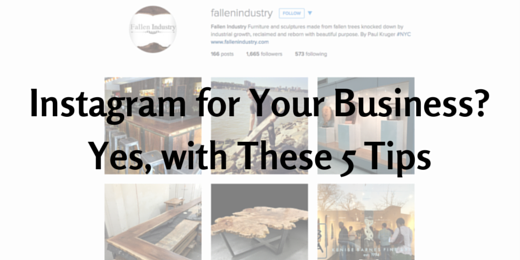 Instagram for your business tips