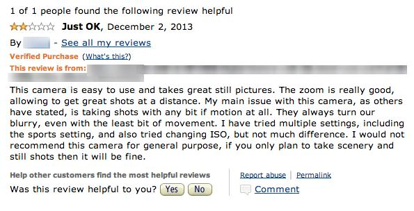 constructive review