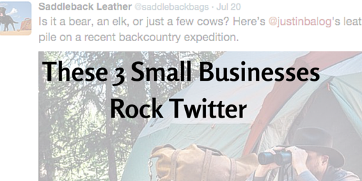 These 3 small businesses rock Twitter