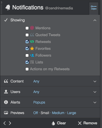 notifications tweetdeck