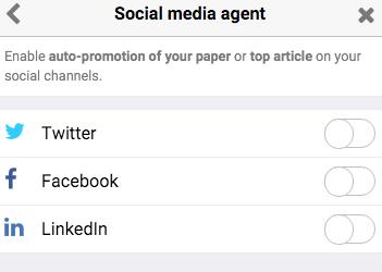 Social Media Agent